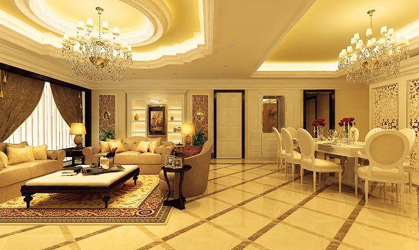 Điểm danh các mẫu gạch lát nền phòng khách theo phong cách cổ điển